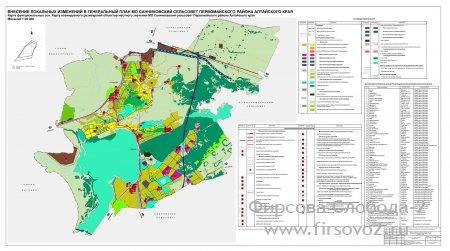 Генеральный план развития Санниковского муниципального образования